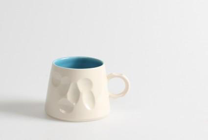 Gavin Burnett Blue Mug