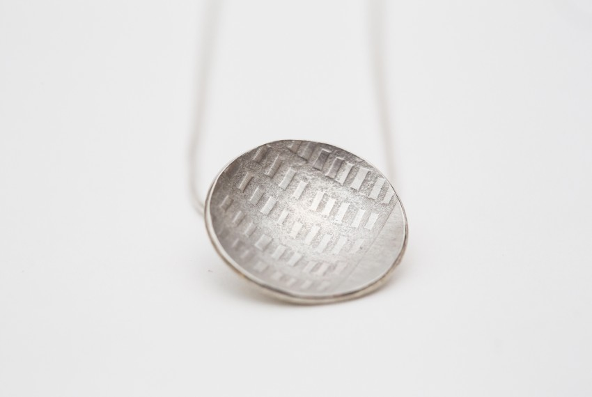 Jewellery, Domed Pendant by Morna Darling