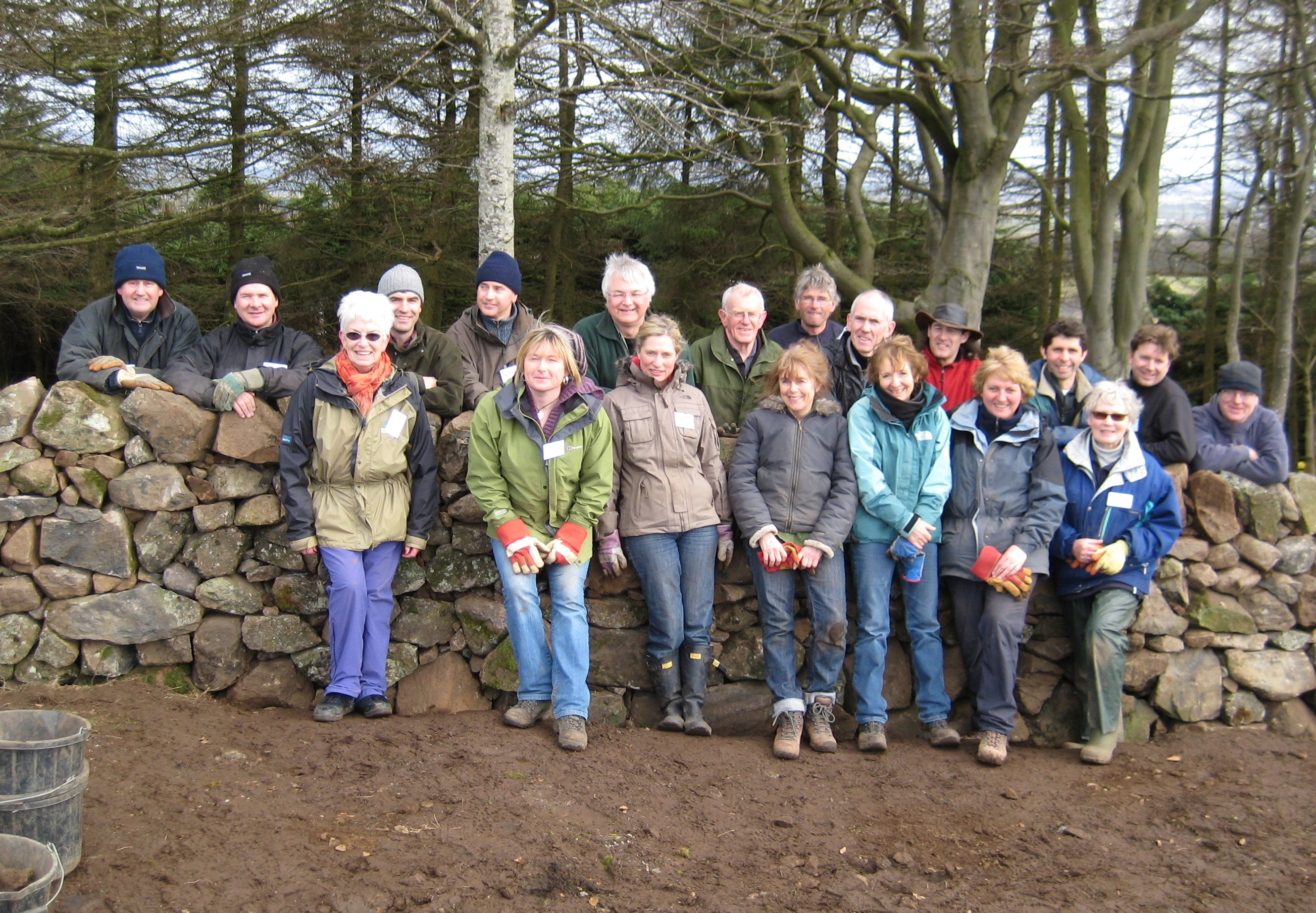 Learn to build/repair a Traditional Dry Stone Wall at Kilbarchan