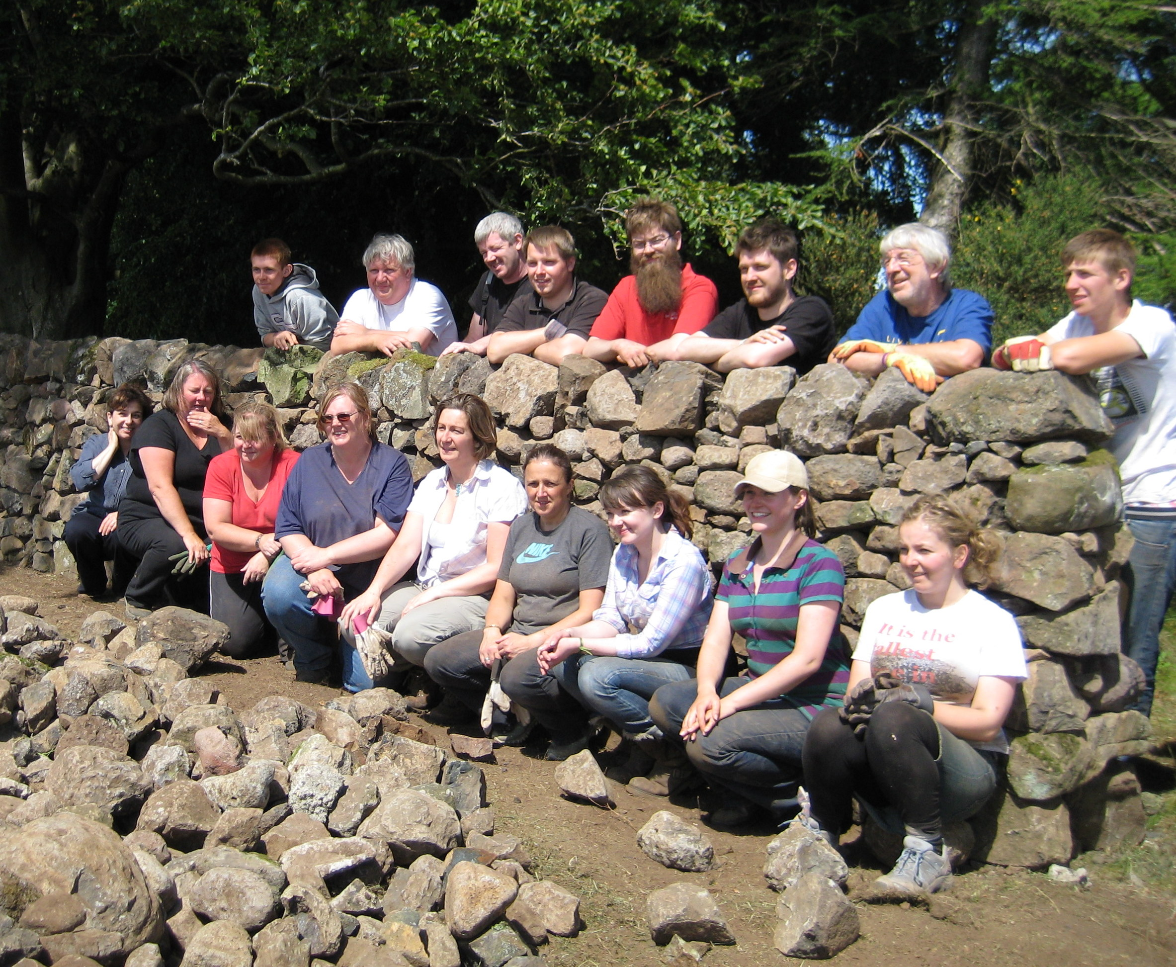 Learn to build/repair a Traditional Dry Stone Wall at Cardross