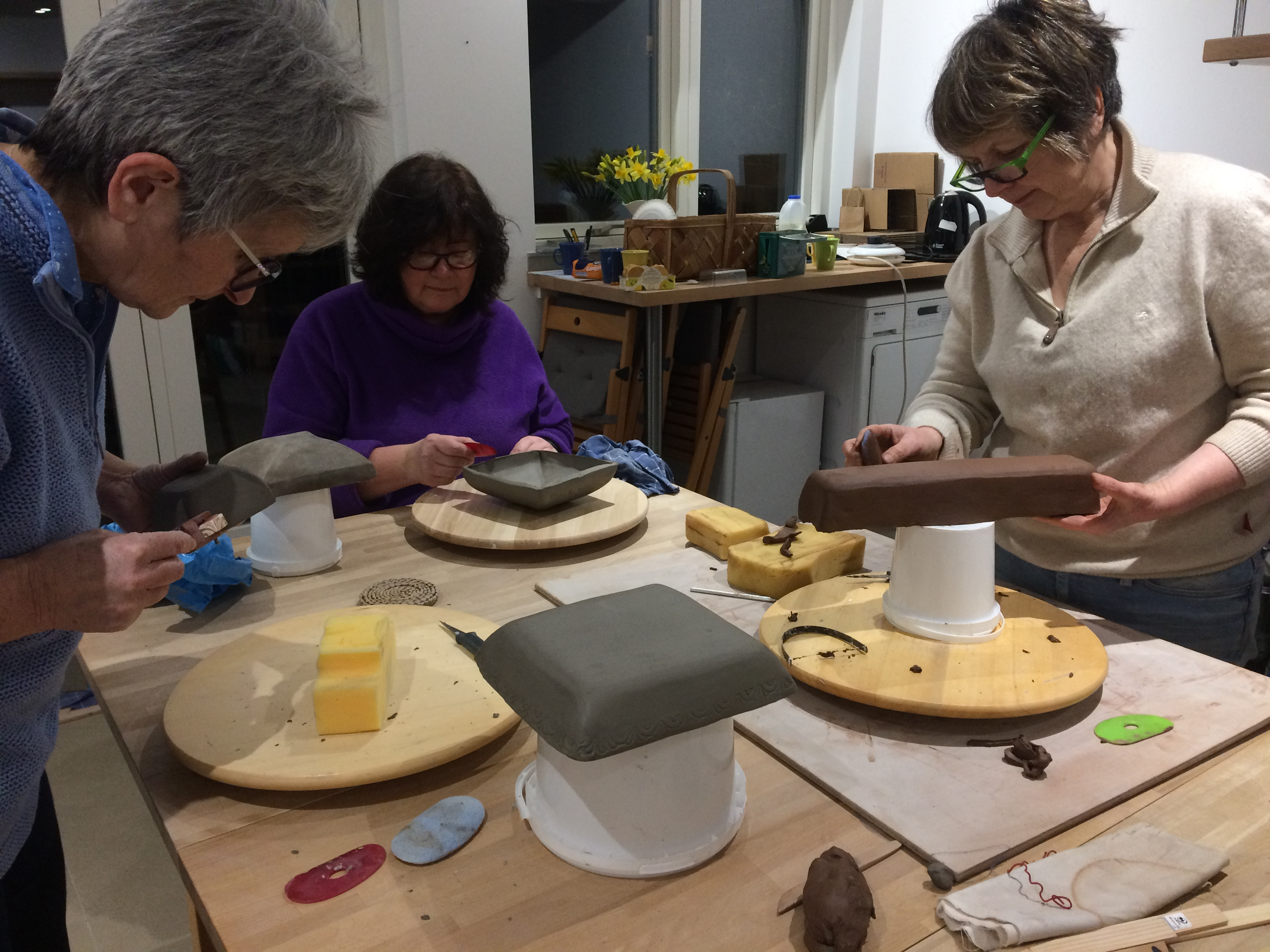 Momentum Pottery Courses and One to One Throwing Sessions