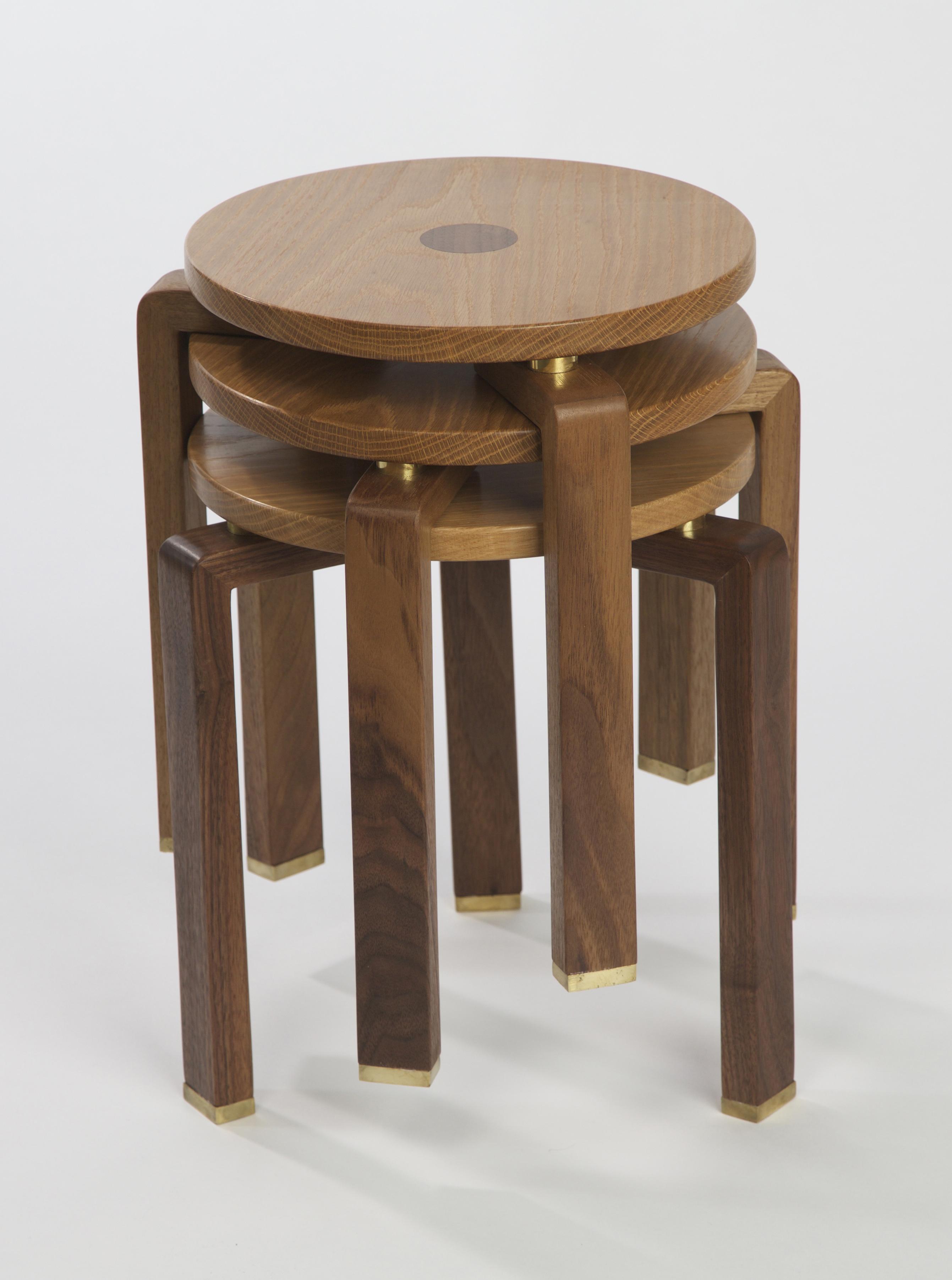 'Zanna' stools stacked