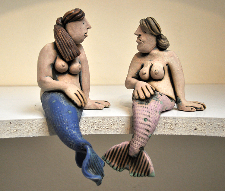 Saucy Mermaids by Ronnie Fulton/>               </div>               <div class=