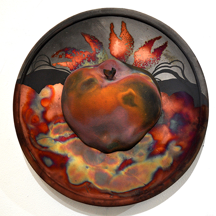 Rake Apple Plate by Dave Cohen/>               </div>               <div class=