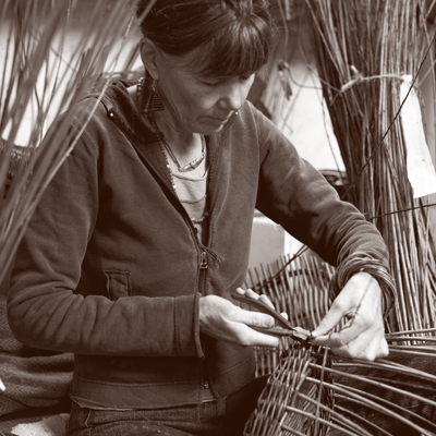 London Craft Weerk - Weave a Willow Basket with Lise Bech  - Craft Scotland and Heal's
