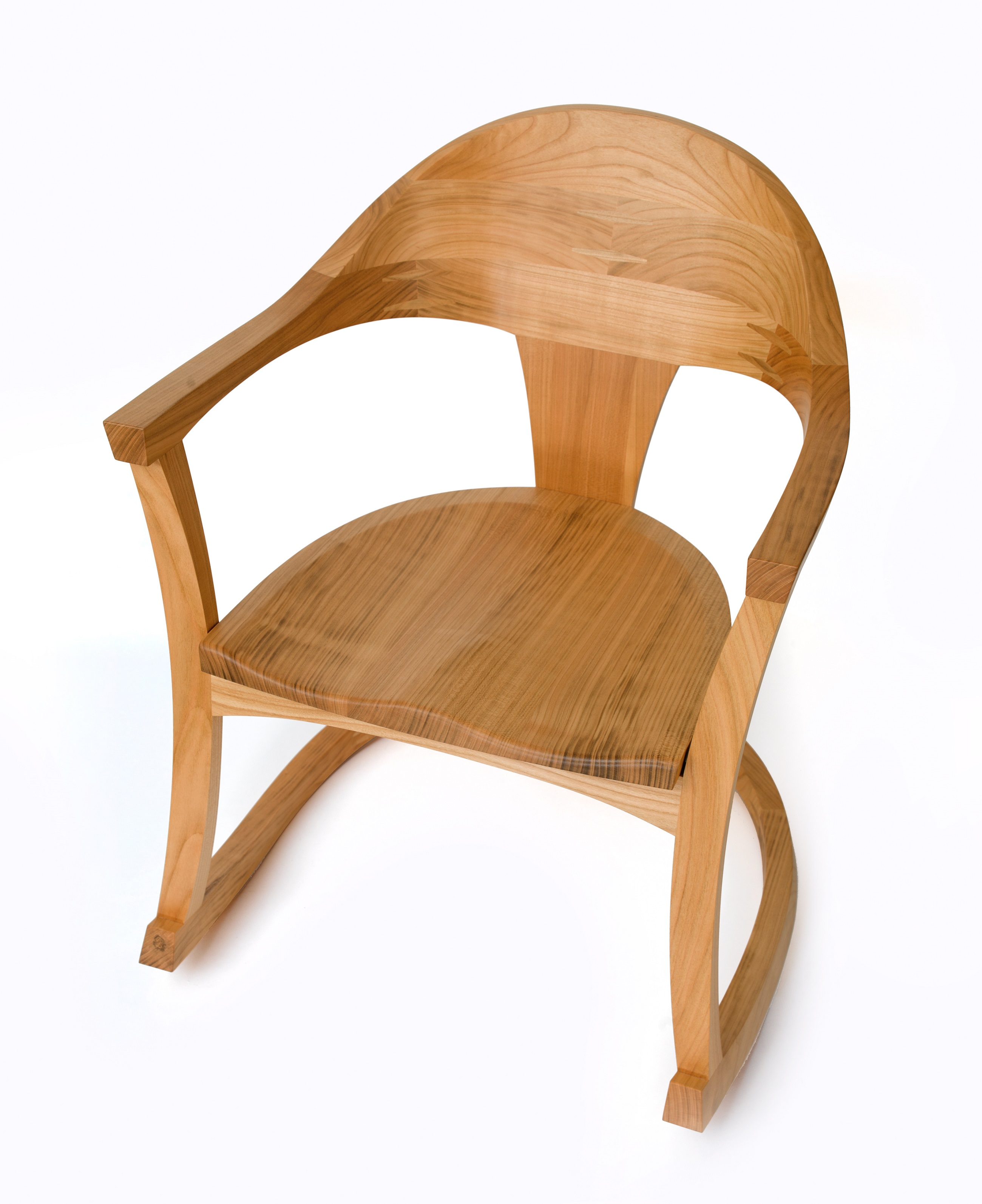 'Robin' the rocking chair - in British cherry