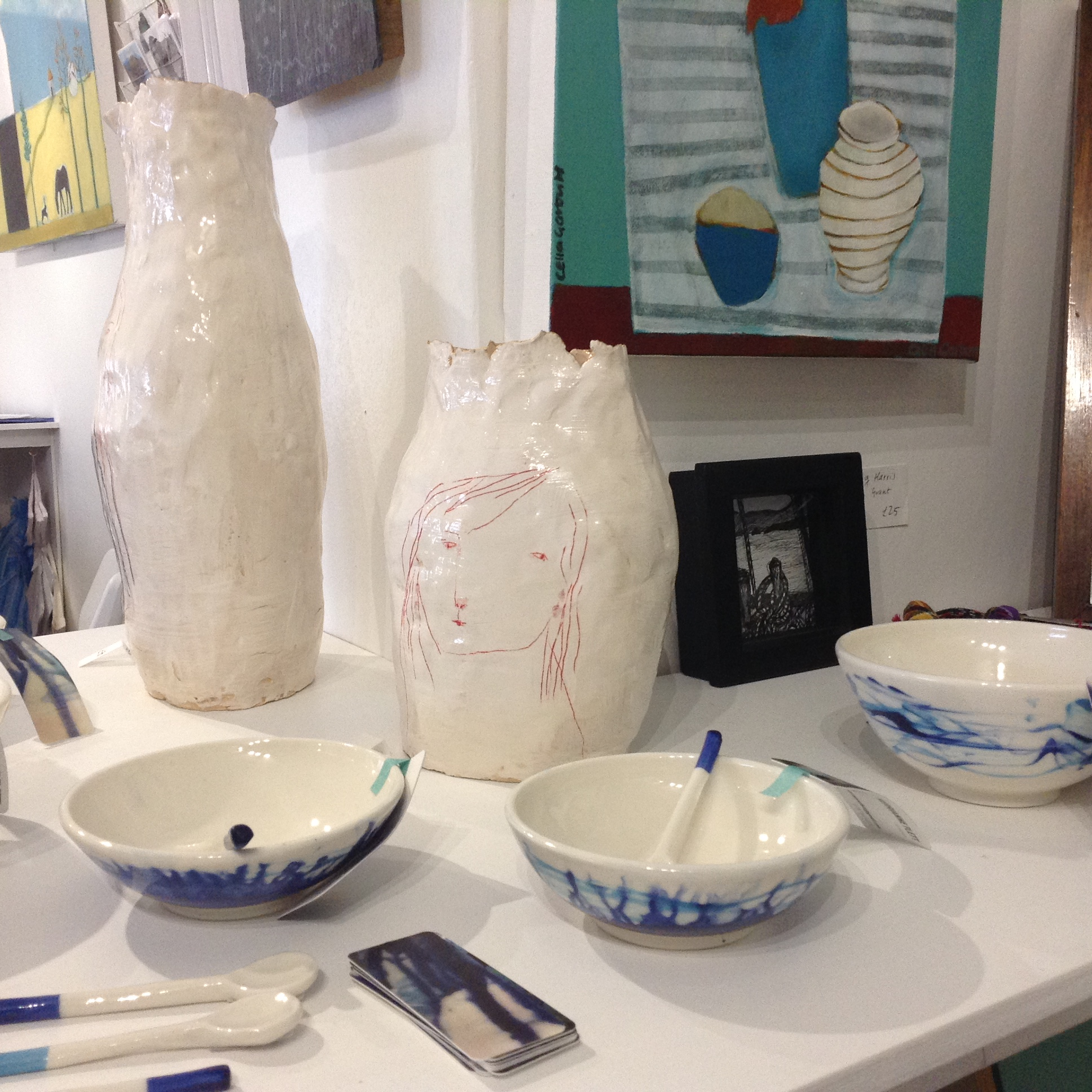 ceramics and paintings/>               </div>               <div class=