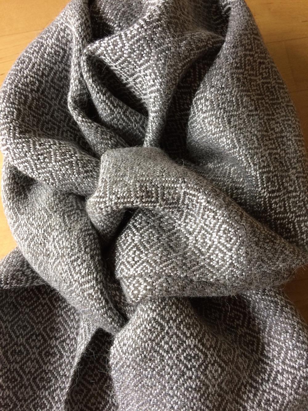 Bamboo & alpaca scarf