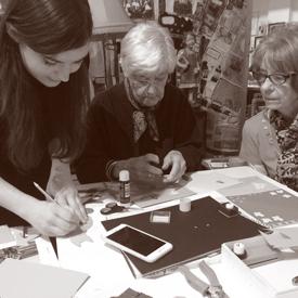 Craft Scotland Outreach & Engagement - The Living Memory Association