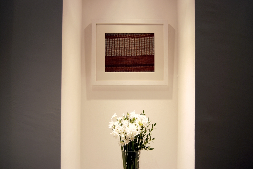 Andy Stirling Robertson - Sustainable Weaving - Wall Hanging