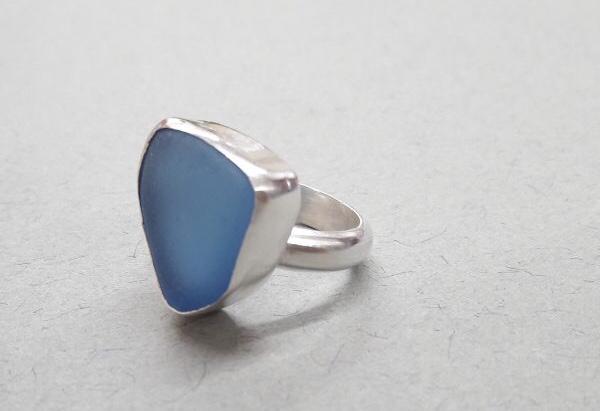 Make a Sea Glass Ring