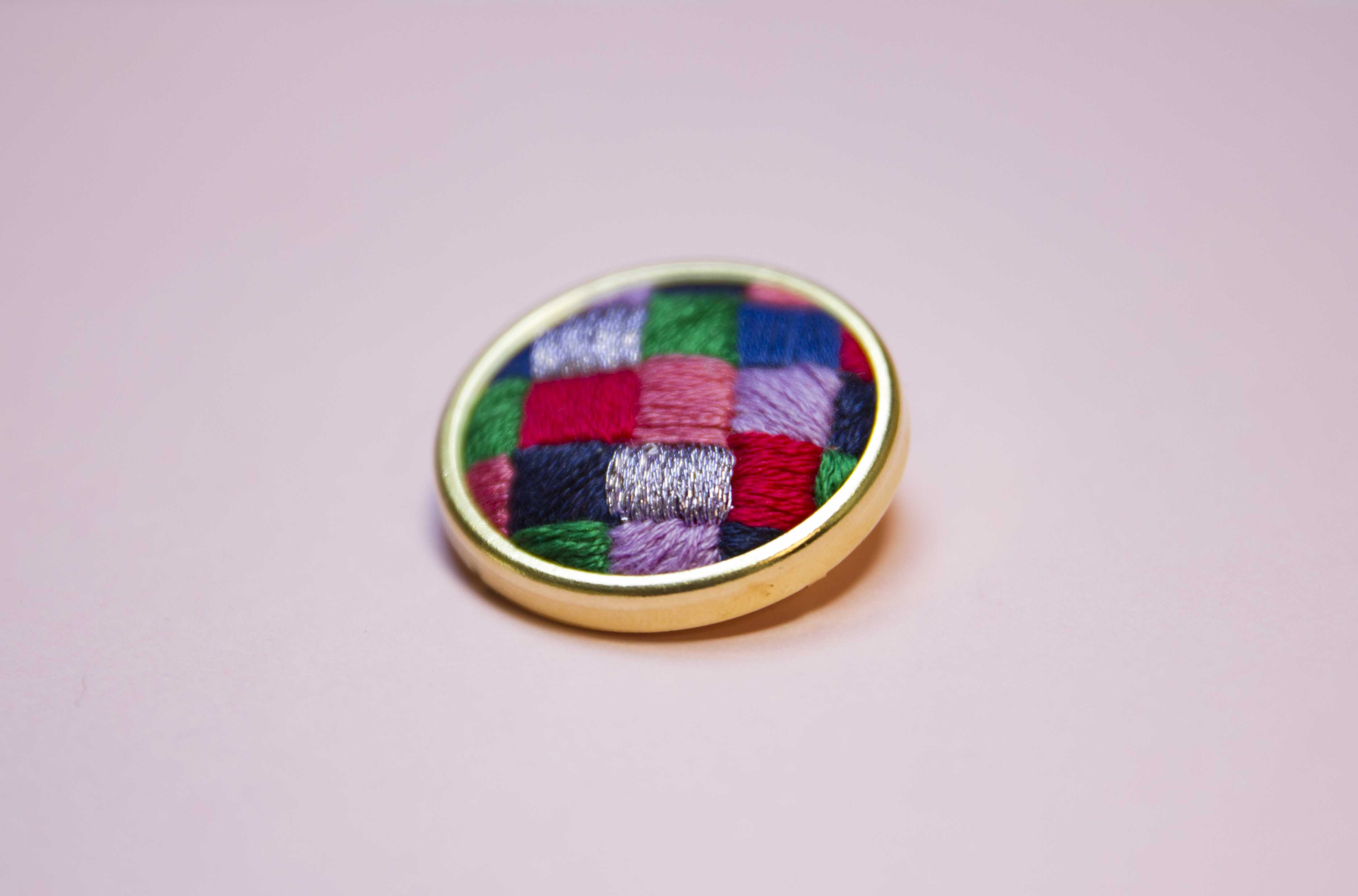 Patchwork Pin