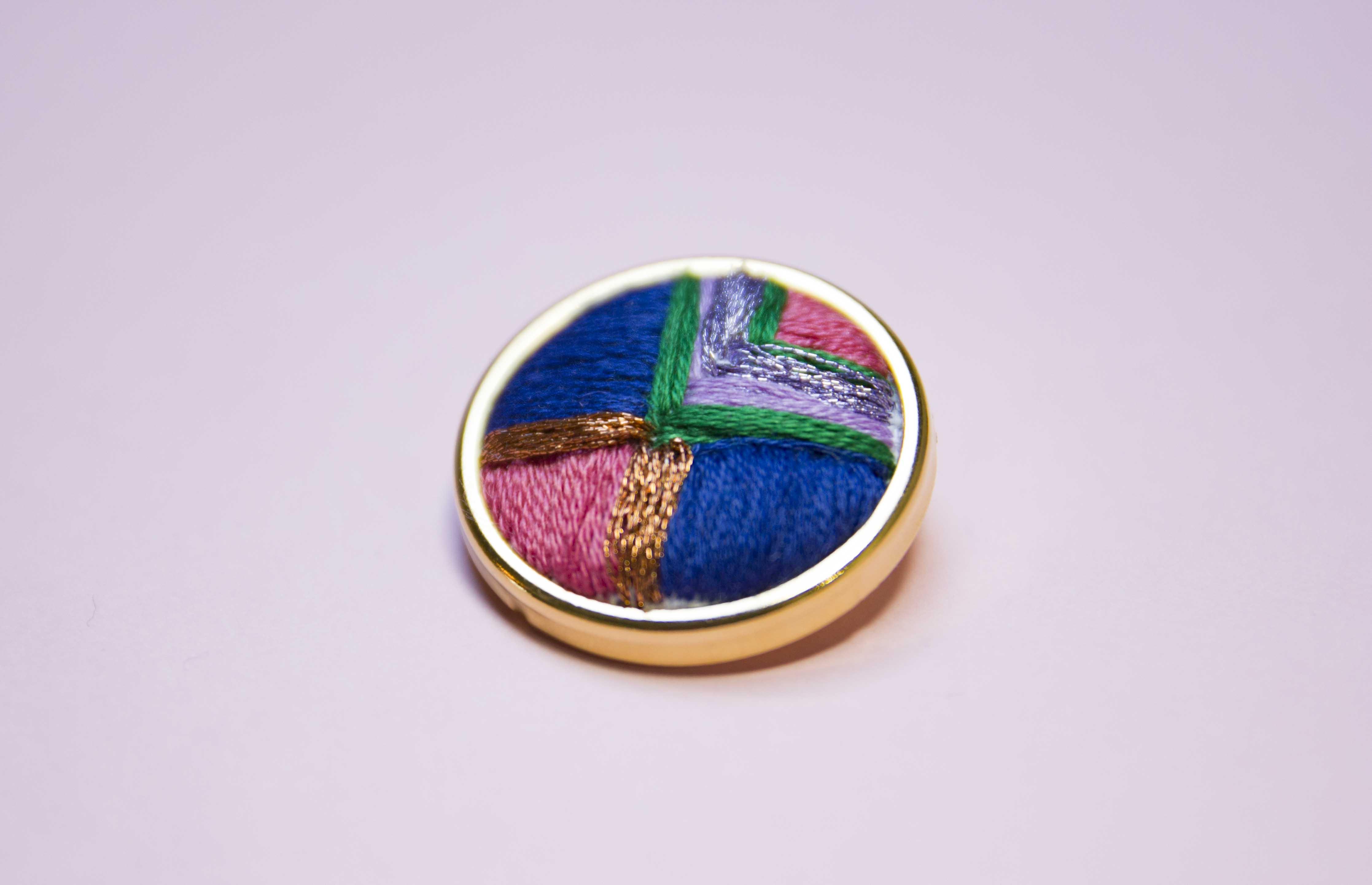 Colour Block Pin