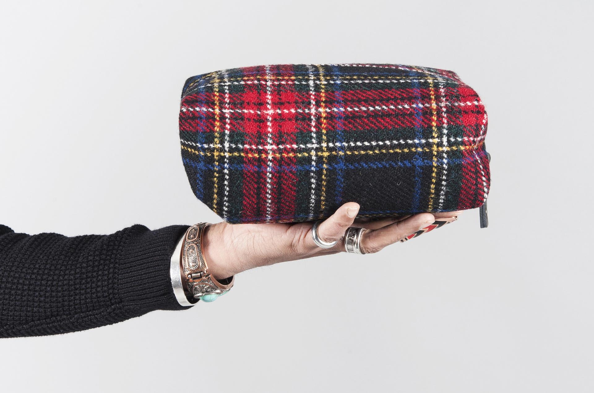 Catherine Aitken Toilet Bag Tartan