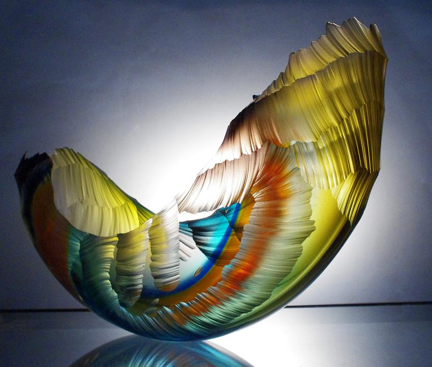 Glass - Sculpture - Scotland - Graham Muir/>               </div>               <div class=