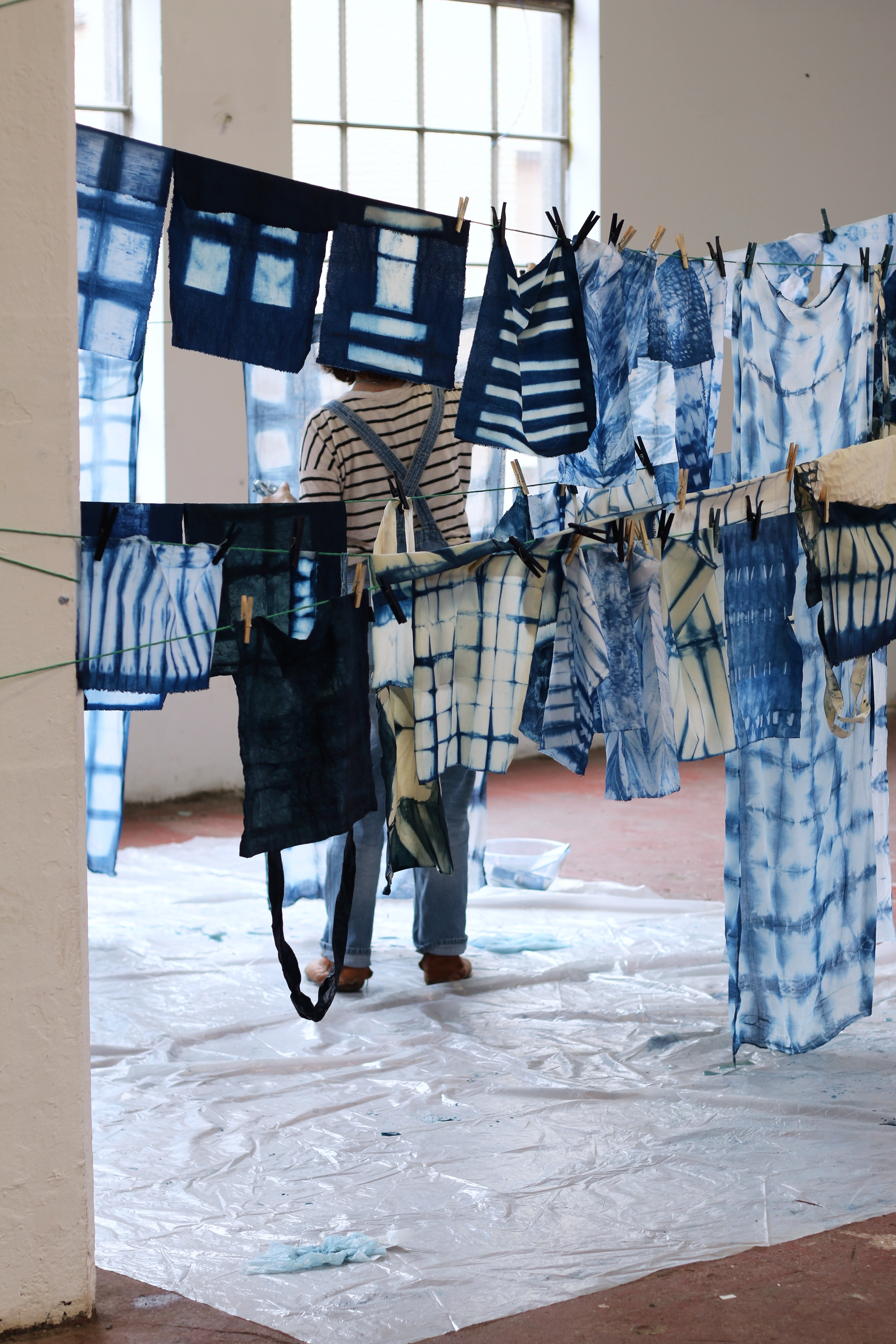 Indigo + Shibori Workshop with Kathryn Davey