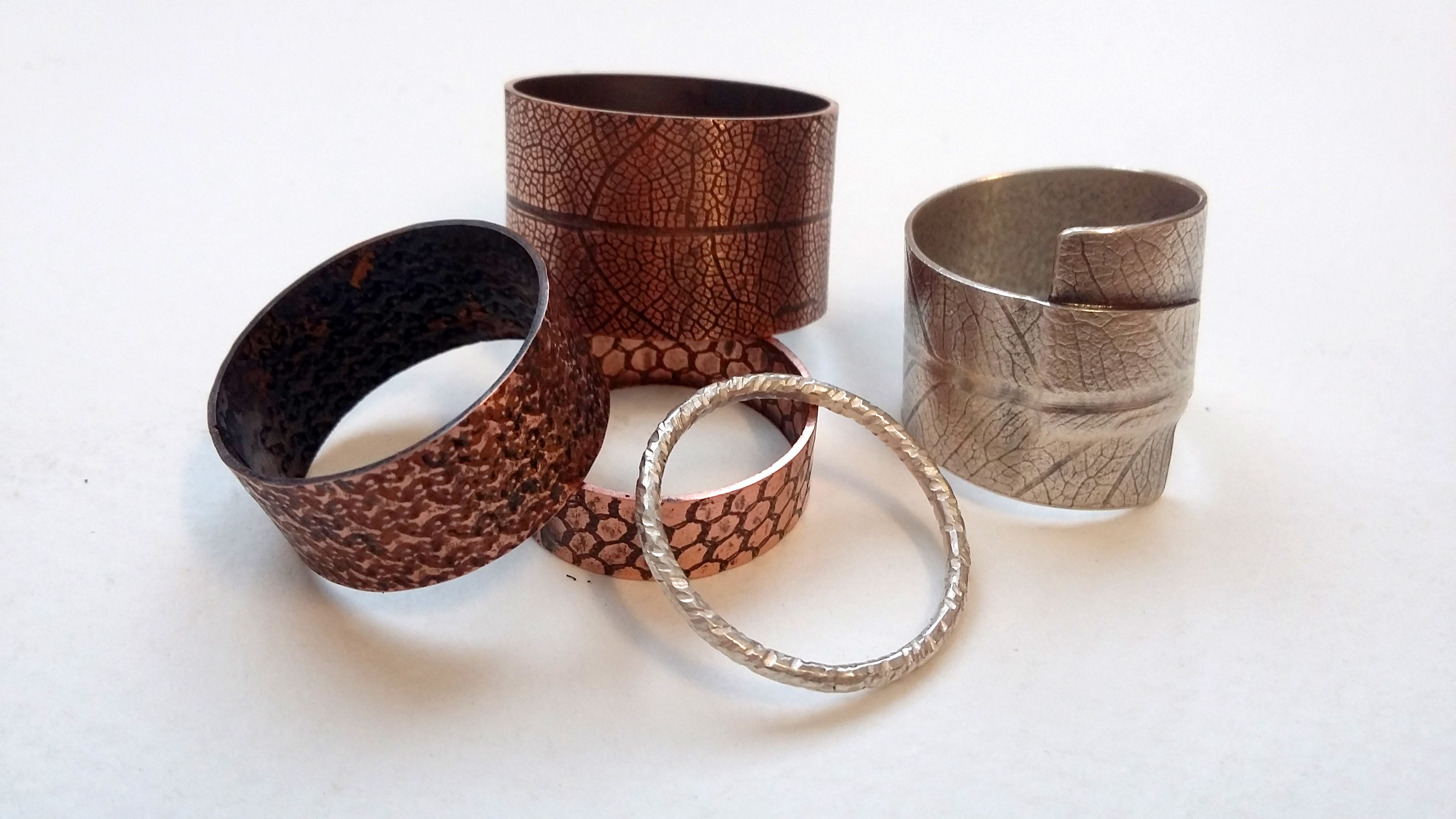 JEWELLERY: TEXTURED RINGS with Jo Pudelko