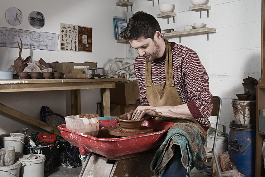 Sustainable ceramics with Kevin Morris