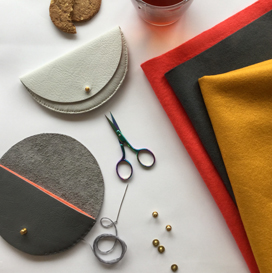Make a Leather Purse with Jude Gove at Craft Scotland Summer Show 2018