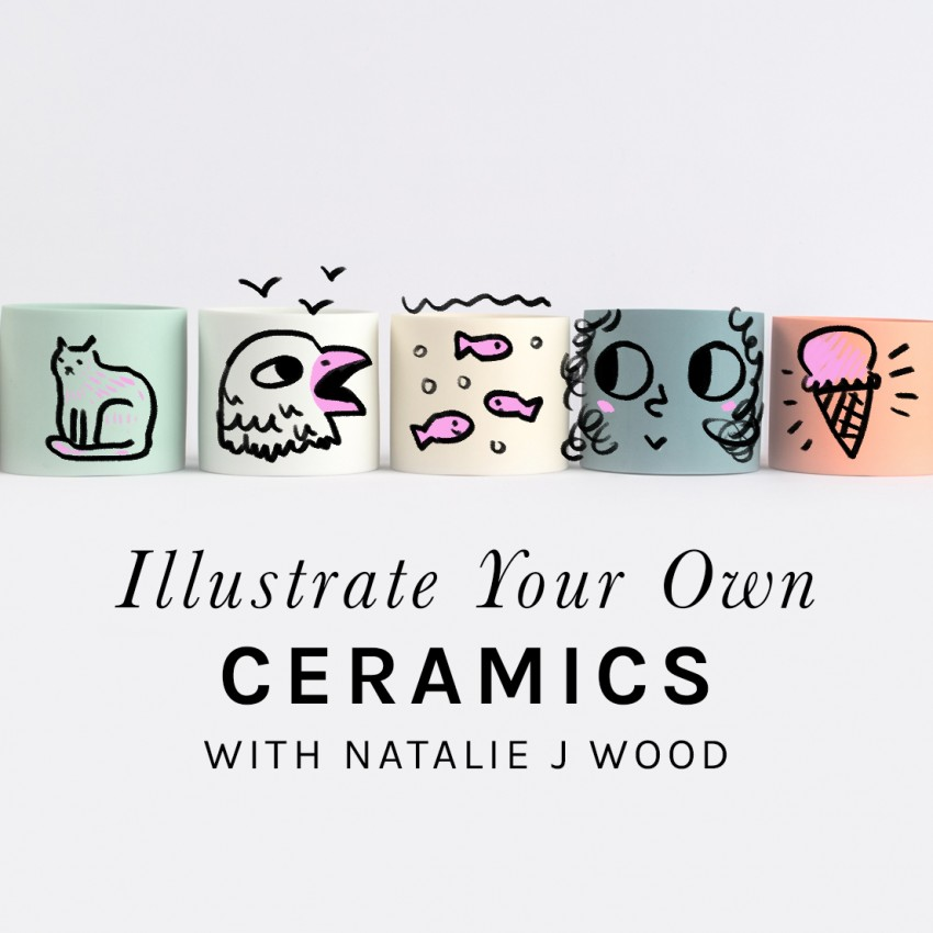 Illustrate your own ceramic object