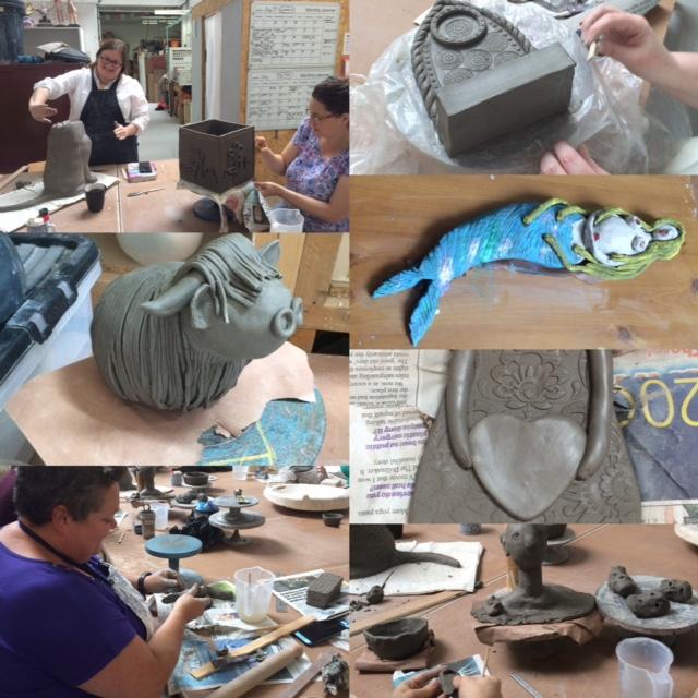 Hand-building Ceramic weekend workshop