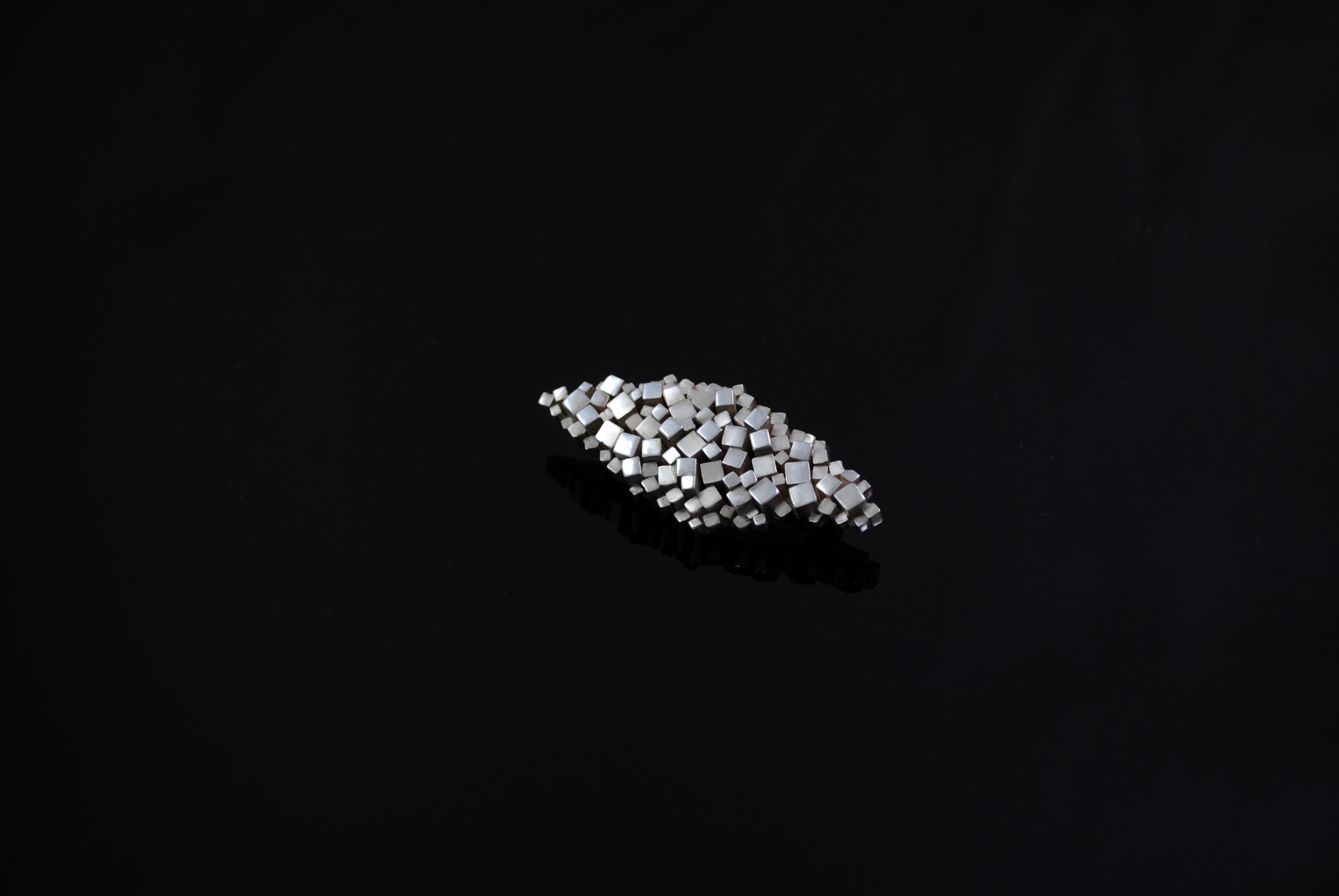 Strata Brooch - Sterling Silver (2017)
