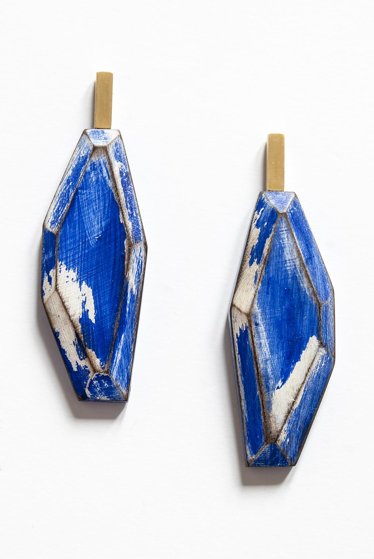 My Seoul blue earrings