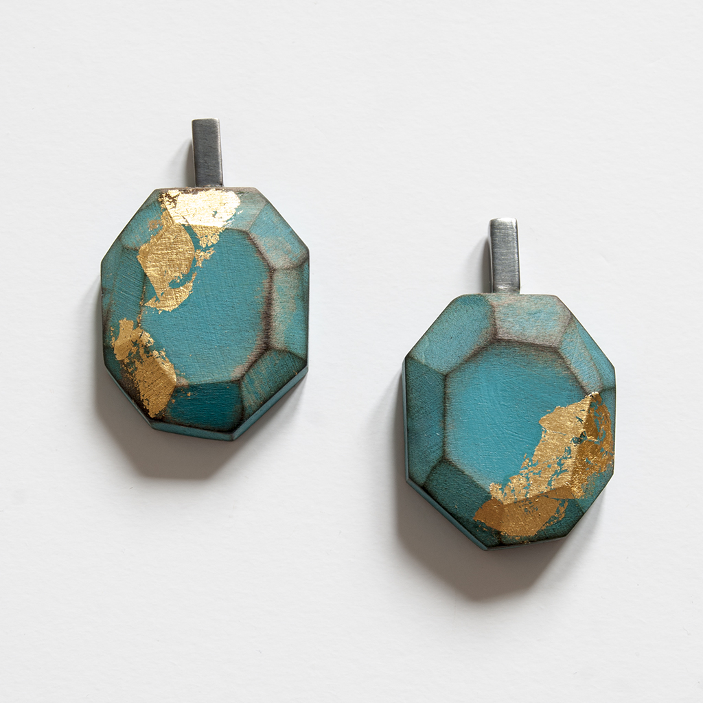 My Seoul turquoise earrings