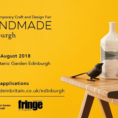 Call for Applications for Handmade Edinburgh 2018