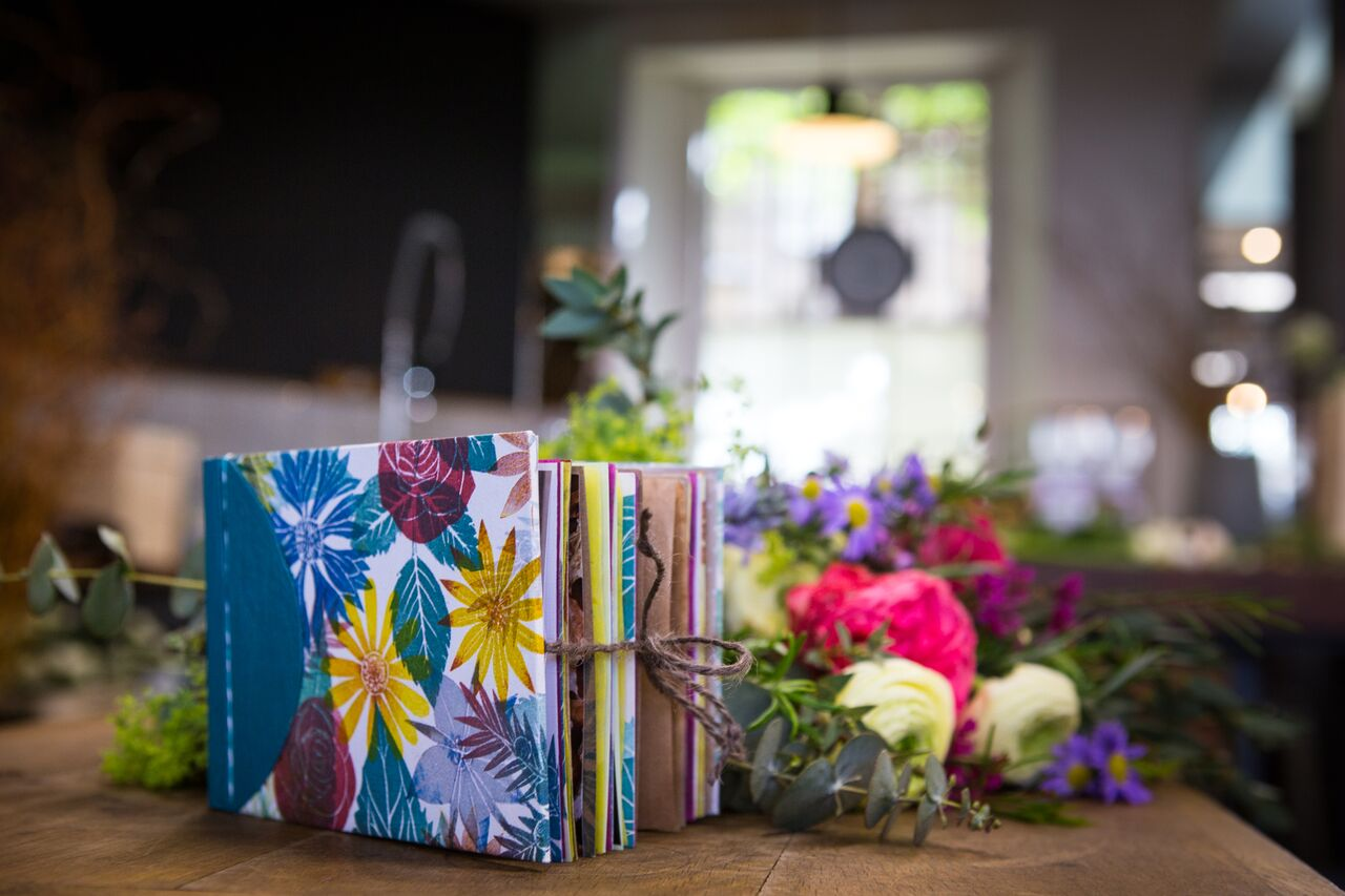 Bookbinding and Botanicals Workshop