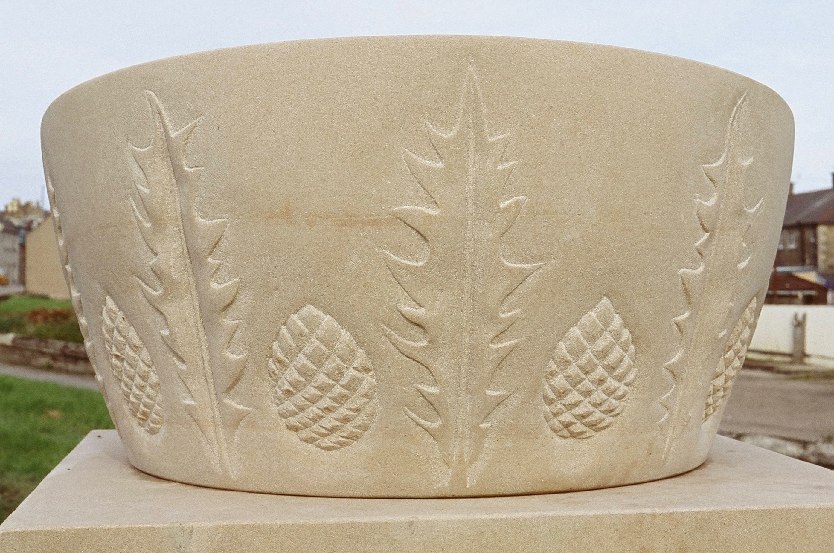 Relief Carving in Limestone Image #1