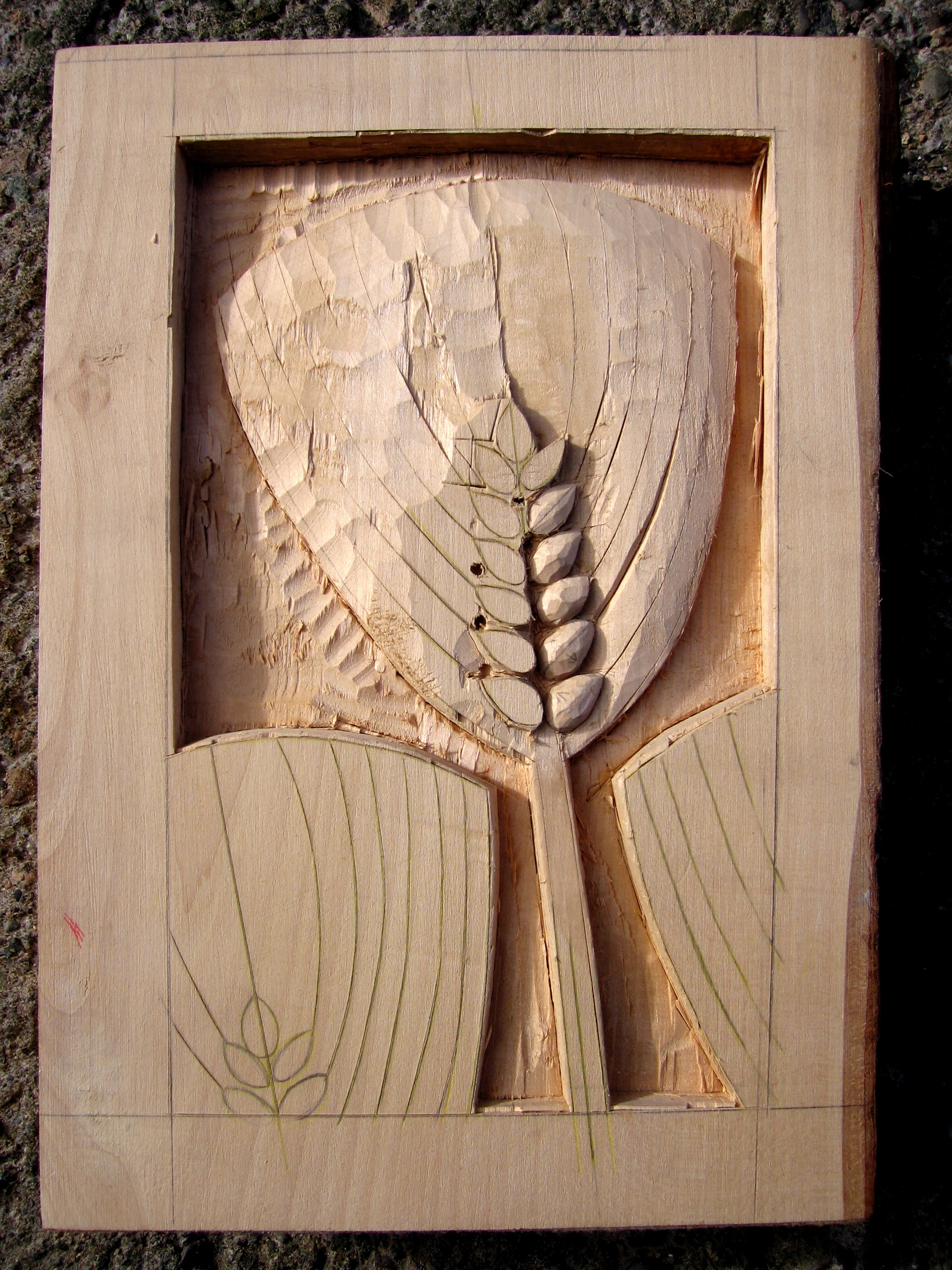 Relief Carving in Lime Wood Image #2
