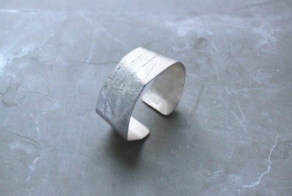 Rhona McCallum Neolith Cuff Sterling Silver