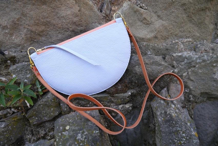 Jude Gove Manon Cross Body Bag in Powder Blue