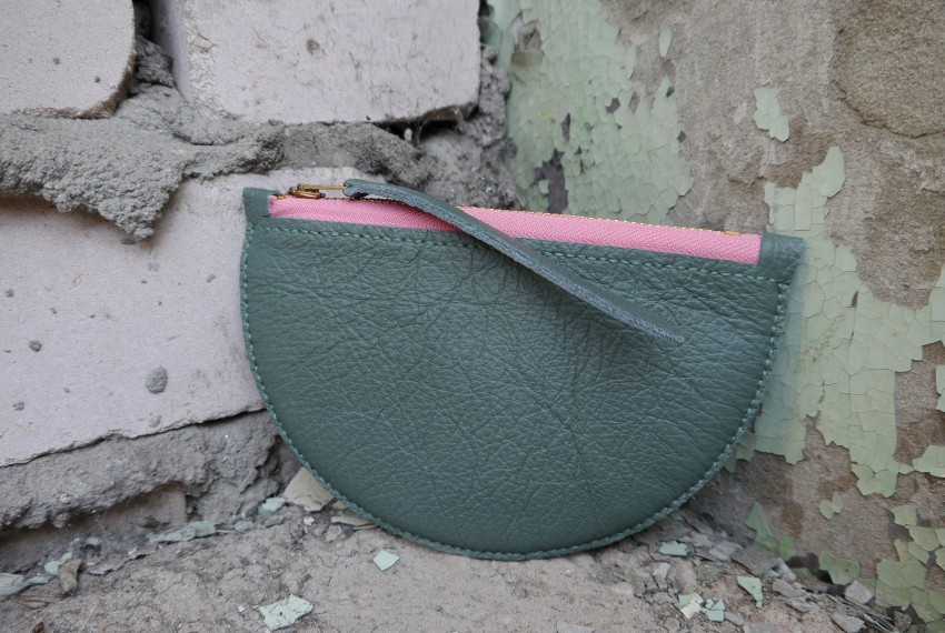 Jude Gove Mimi Coin Purse Forest Green