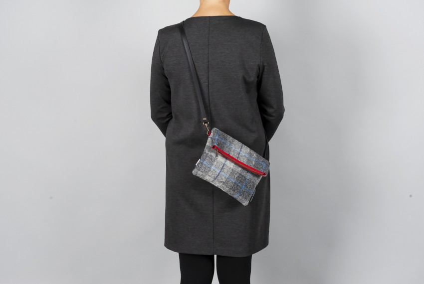 Catherine Aitken Voyager Messenger Grey Check