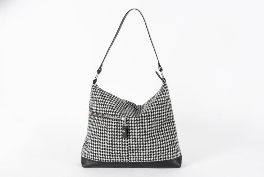 Catherine Aitken Hobo Handbag Dogtooth