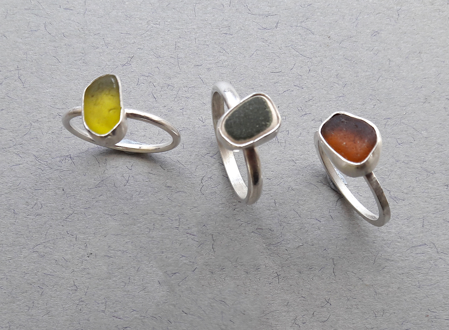 Sea Glass Rings with Jo Pudelko