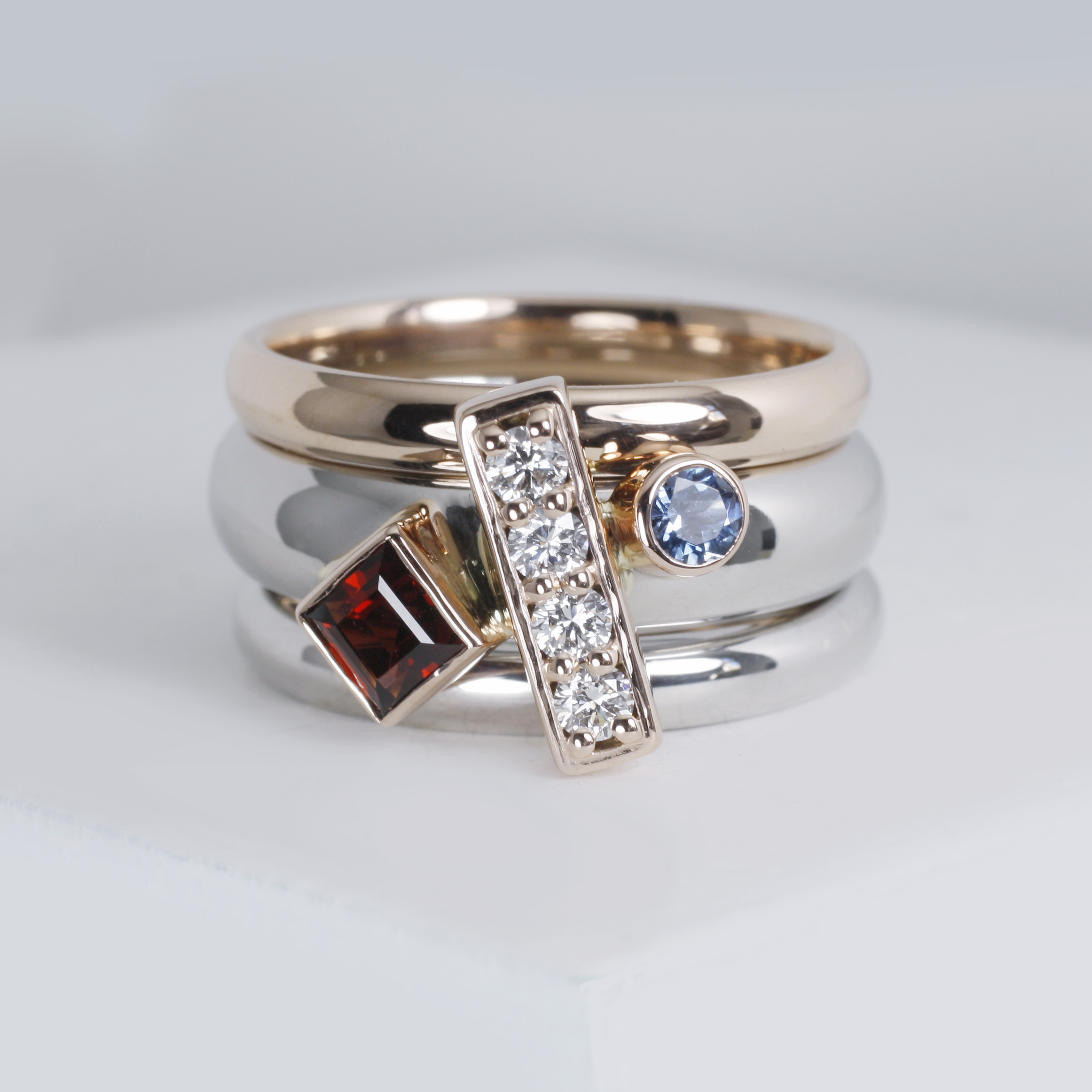 Mixed Metal Ring Stack/>               </div>               <div class=