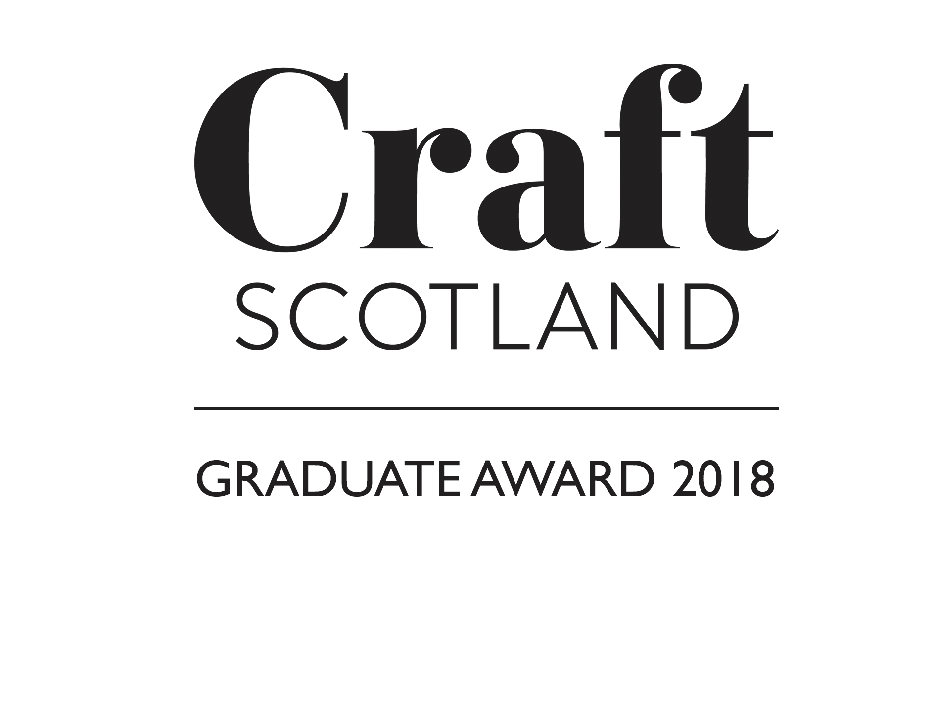 Craft Scotland Graduate Award 2018