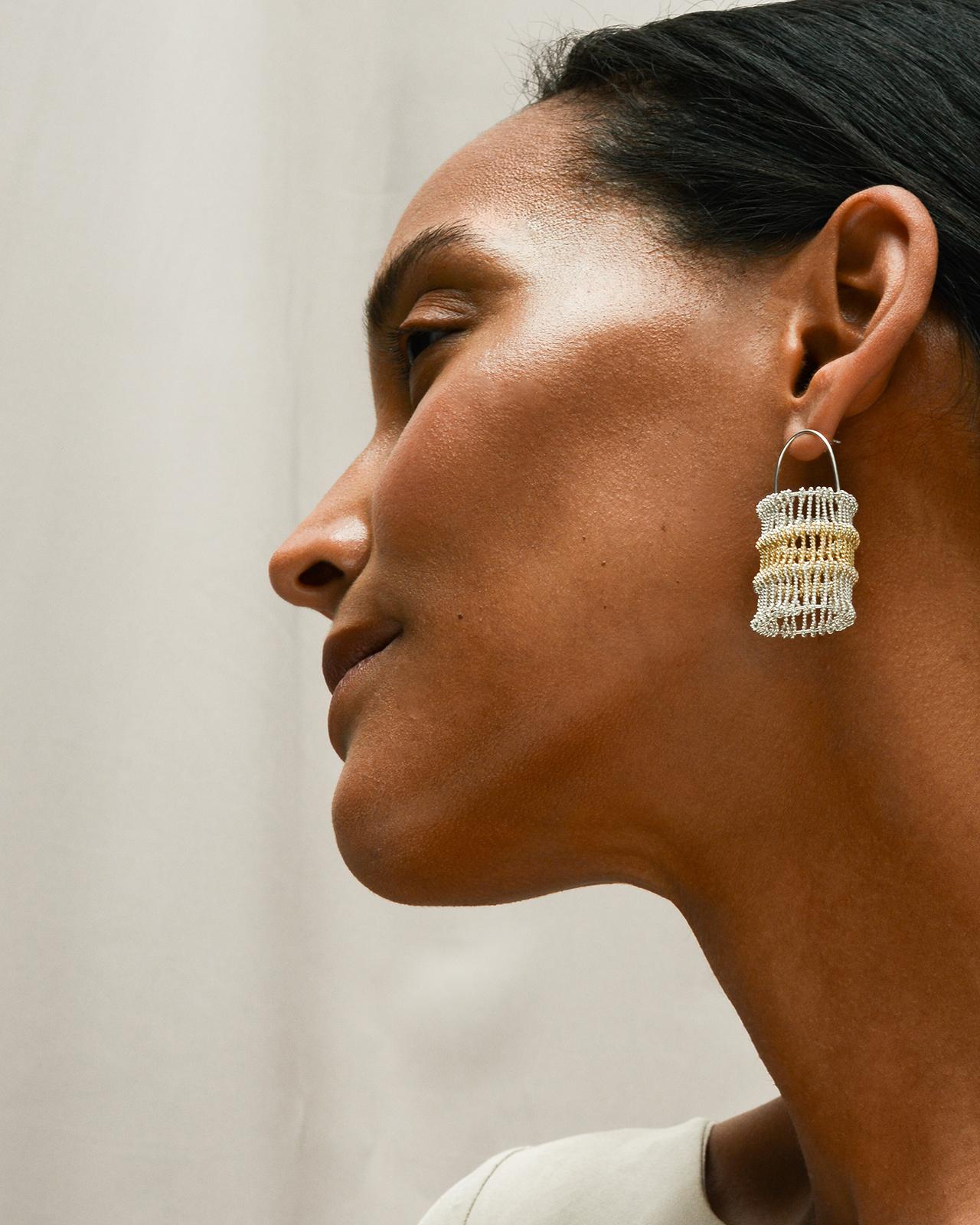Level Heddle earrings
