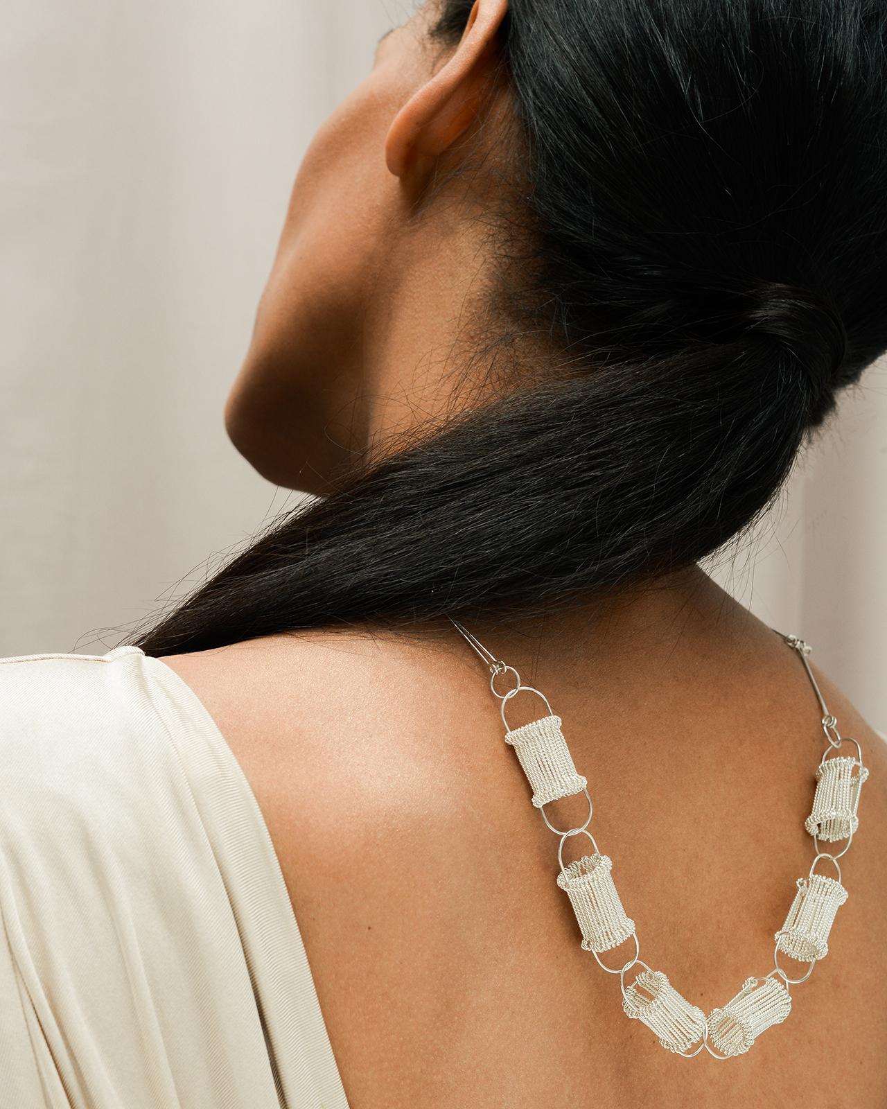 Half Heddle neckpiece