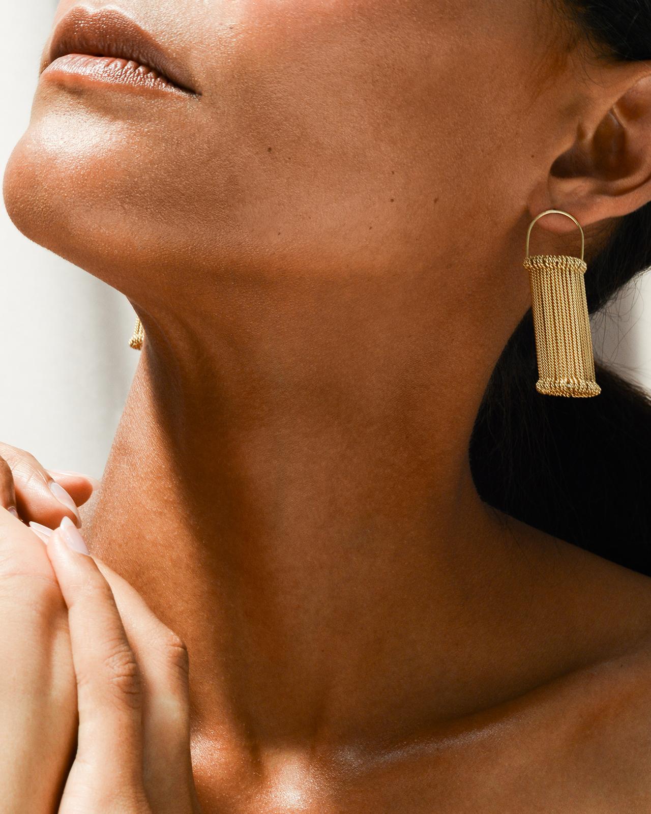 Heddle earrings