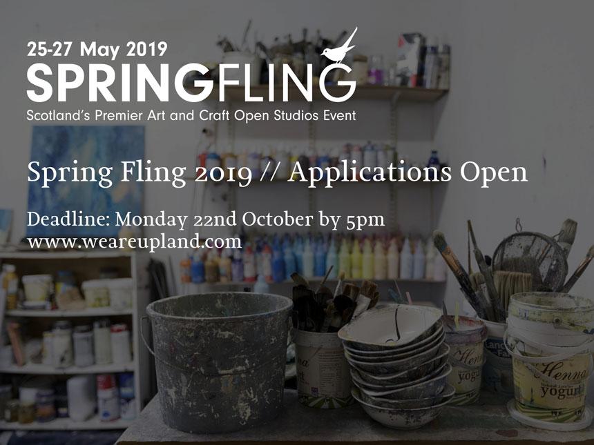 Spring Fling Open Studios 2019 / APPLY