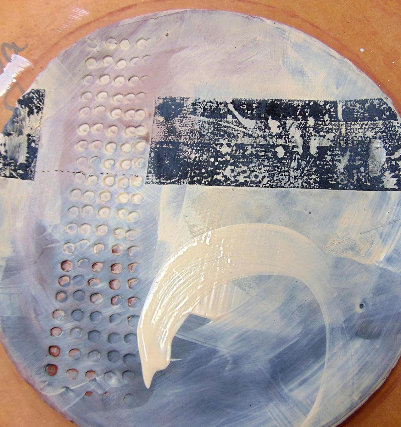Ceramics: press moulded & slab built dishes