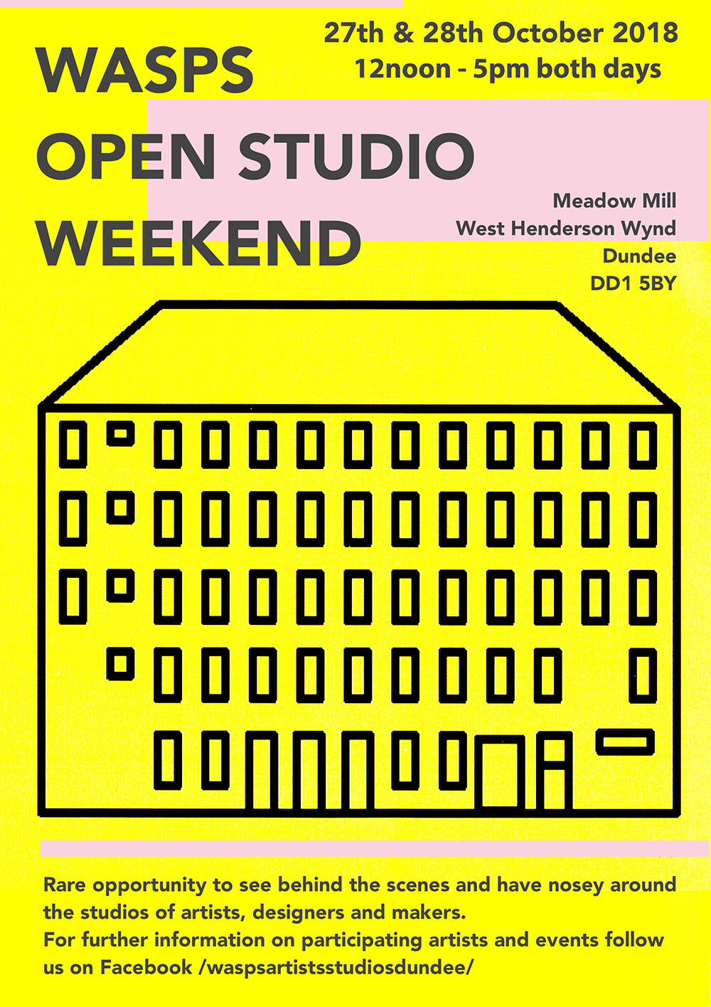 WASPS Open Studio Weekend