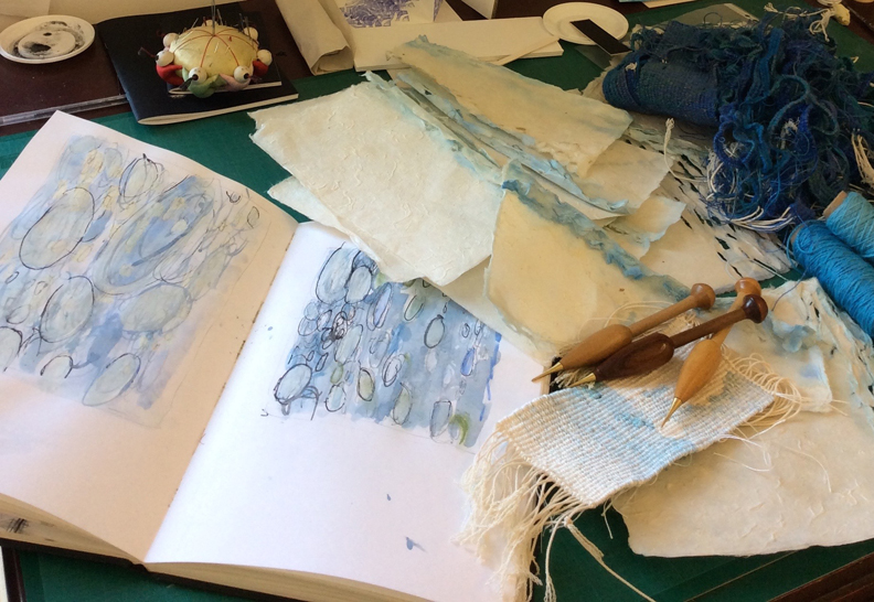 Tapestry Weaving - Introduction to Studio Practice