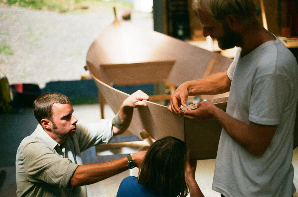 Boatbuilding – Building the Caravelle rowing skiff