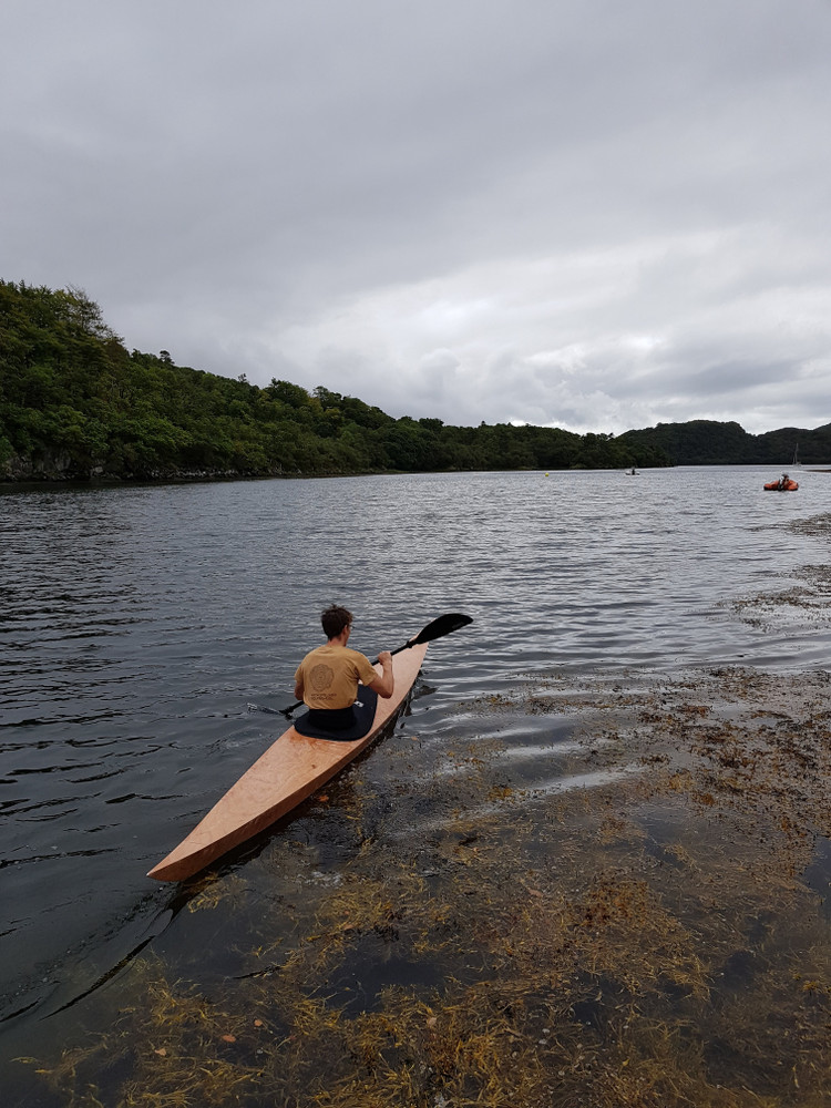 Testing a new kayak/>               </div>               <div class=