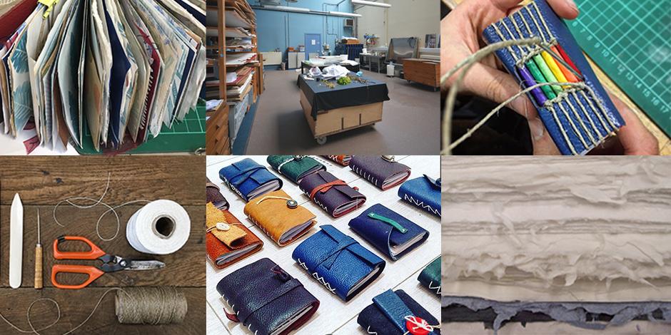 Papermaking & Bookbinding: a creative workshop weekend